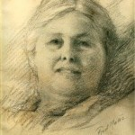 drawing of Charlotte Mason