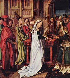 Presentation of Christ in the Temple by Hans Holbein the Elder