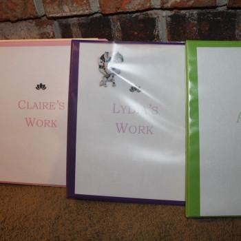 work binders